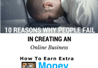 10 Reasons Why People Fail In Creating An Online Business